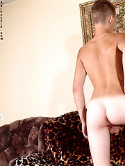 Tasty twink showing hot ass